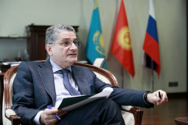 Interview: Tigran Sargsyan on the Eurasian Economic Union