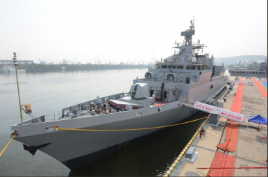 India Commissions New Sub-Killer Stealth Warship