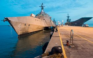 US Navy's Only Overseas Littoral Combat Ship Departs Southeast Asia