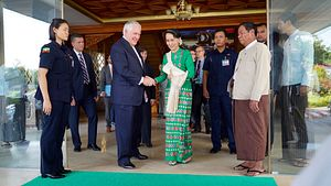 What Tillerson's Myanmar Visit Means