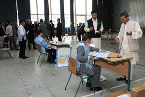 Afghan Parliamentary Elections: Huffing and Puffing, But Missing the Bigger Picture