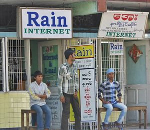 Social Media Exhibits Its Disruptive Power in Myanmar