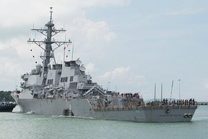 US Navy Reports on Collisions in Pacific – the USS John S. McCain