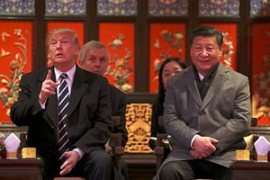 Trump in Asia: China Determined to Win the Protocol Race