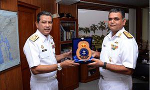 Malaysia Navy Commander Makes India Voyage