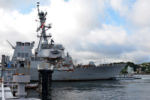 US Navy Reports on Collisions in Pacific – the USS Fitzgerald