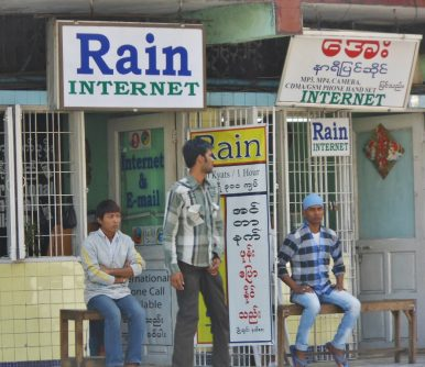 Social Media Exhibits Its Disruptive Power in Myanmar