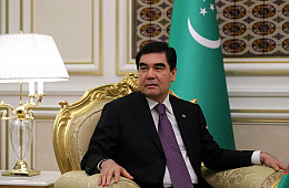 In Turkmenistan, the Buck Stops Where Berdy Says It Does