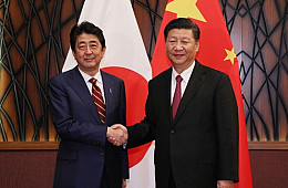 Abe Vows to Achieve Major Improvement in Sino-Japan Relations in 2018