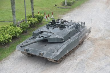 Main Battle Tanks Have Taken Over And Singapore S Leopard 2sg Are More Than Enough Muscle For The Army Armoured Units