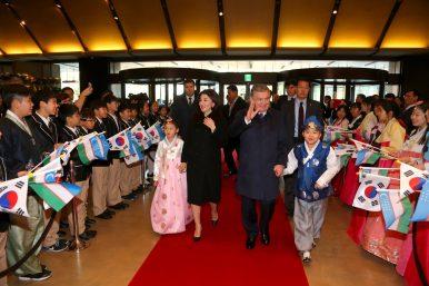 Uzbek President Mirziyoyev Lands in South Korea, Reaffirming a Strong Partnership