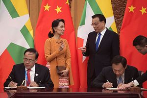 China's Belt and Road in Myanmar