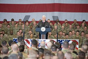 US Vice President Pence Makes Surprise Trip to Afghanistan
