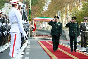 China, Iran to Deepen Military Ties