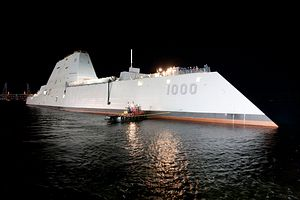 US Government Report Outlines Problems With Navy's Zumwalt-Class Destroyers