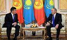 Jeenbekov and Nazarbayev Put Kyrgyz-Kazakh Relations Back on Track