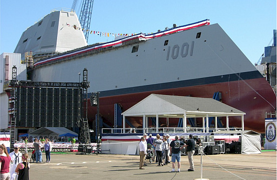 US Navy Accepts Delivery of New Stealth Destroyer | The Diplomat