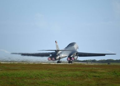 US B-1B Bomber Joins US-ROK War Games in Korea
