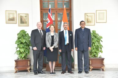 India, Australia Hold First Two-Plus-Two Foreign and Defense Secretaries Meeting