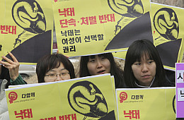 Taboo No More? Abortion in South Korea