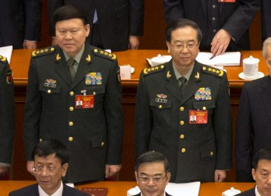 The Death of Zhang Yang and China's Military Purge