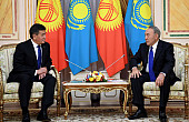 Jeenbekov and Nazarbayev Put Kyrgyz-Kazakh Relations Back on Track
