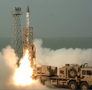 India's Advanced Air Defense Interceptor Destroys Incoming Ballistic Missile in Test