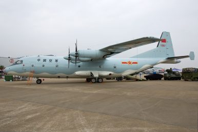 China's Air Force Declares Shaanxi Y-9 Transport Aircraft Operational