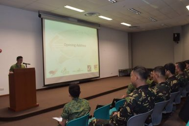 Singapore-Philippines Urban Warfare Training Kicks Off