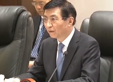 Is Wang Huning Trying to Hide His Light?