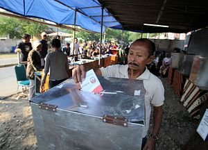Politics in Indonesia: It's Business As Usual