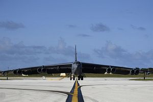 US Air Force Flies 2 B-52H Bombers Over East and South China Seas