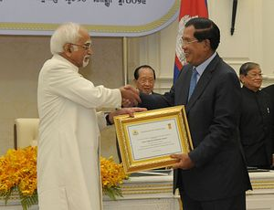 Cambodia's Special Relationship With India