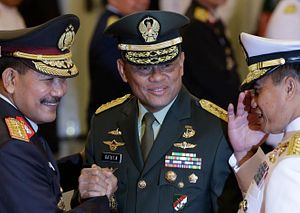 An Indonesian General's Political Aspirations