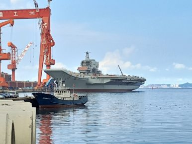 Will China's First Homemade Carrier Take to the Sea in February?