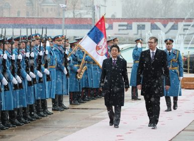 What Was Japan's Prime Minister Doing in Eastern Europe?