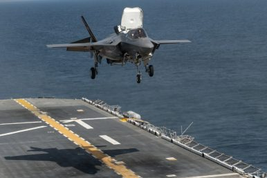 US Warship Capable of Operating F-35B Arrives in Japan