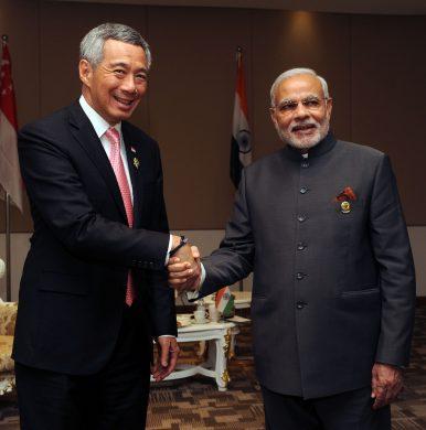 Singapore's China-India Balancing Act