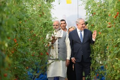 India-Israel Ties Gather Momentum