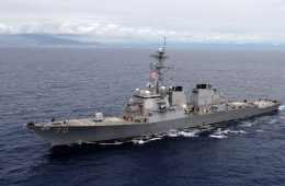South China Sea: US Destroyer Conducts Freedom of Navigation Operations Near Scarborough Shoal