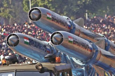 India to Test 800-km Range BrahMos Supersonic Cruise Missile in 2018