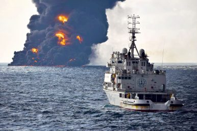 Iranian Oil Tanker Disaster Highlights Northeast Asia's Faultlines