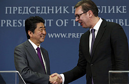Japan, China, and the Western Balkans