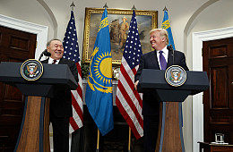 Nazarbayev Goes to Washington