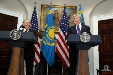 Nazarbayev Goes to Washington