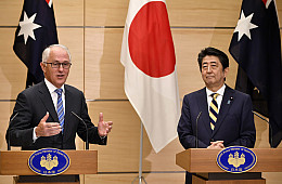Japan, Australia Step Up Defense Cooperation