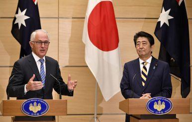 Japan, Australia Step Up Defense Cooperation