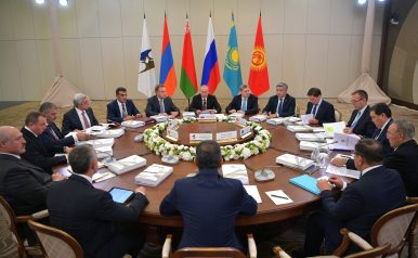 Remember the Eurasian Economic Union?