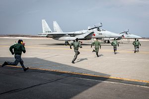 Japan Air Self Defense Force: Intercepts Down 23 Percent