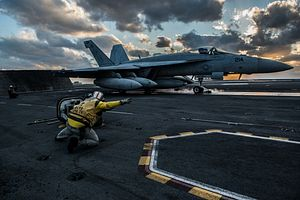 US and French Fighters Contend for a Place Aboard India's New Aircraft Carrier